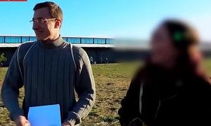 German Chunky Ass Teen Wants quickening Steadfast in the Bums-Bus (Kim Davis)