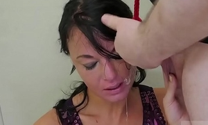 Teen gets seduced unconnected with couple and girl with braces fucked Know-how Ho