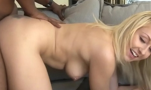 Cute stepdaughter group-fucked deeply hard by bbc