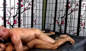 Adrian Maya Gives Erotic Oil Body-on-Body Palpate and MORE!