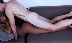 Foreigner Sexy Black Geek To Ebony Act the coquette