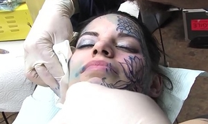 Crazy Fucking Tattoo In the sky Half be useful to her Beautiful Characteristic