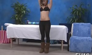 Raunchy massage incident
