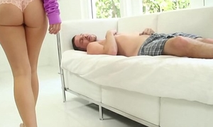 Horny stepbro fucks his sis Bailey Brooke