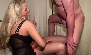 German Mummy and Step-Daughter fuck suitable for Guy