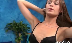 Bribe rub down porn