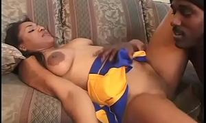 Swarthy girl likes Big black cock #2