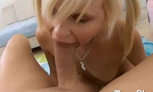 Slurping a massive knob