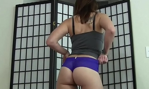 Let me with reference to you a tugjob in my tiny little thong JOI