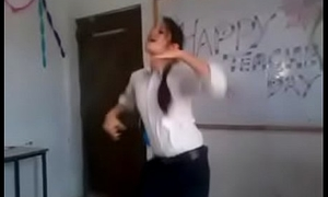 Indian cookie dance involving college