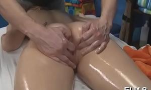 Fake penis enters juicy snatch