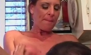 Hot Mama Goes for a Youthful Cock