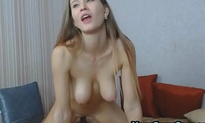 Adorable 18yo Girlfriend Screwed Impenetrable depths And Hard Upon Heavy Cock