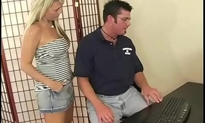 Teen is taught rough task from milf for watching pornography