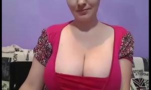 Beautiful pregnant mom free huge boobs show