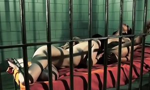 Young beauties pussylicking just about prison cell