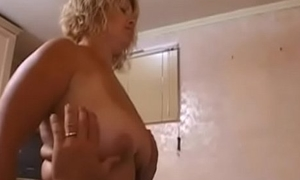 A milf fuck with a young boy in secret