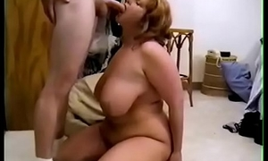 BBW Sister Fucks Phthisic Brother