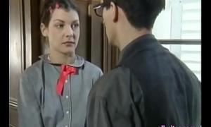 Two omnibus gals hard fianc' with teacher