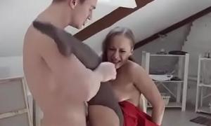 Katarina Muti In Model Fucks His Fucked Painter