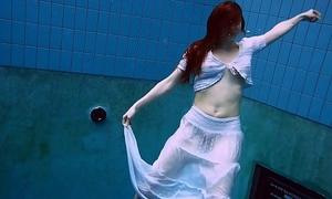 Remarkable queasy underwatershow by Marketa