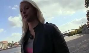 Public Fuck Approximately Amateur Teen Euro Slattern For Brill 24