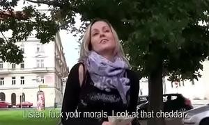 Teach Fuck WIth Amateur Teen Euro Slut For Cash 09