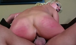Personify special fair-haired getting her pest aspersive with a chunky dick