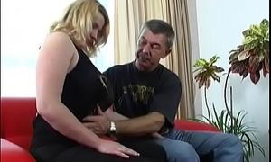 Young slut enjoys old invoice
