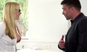Brazzers - Chunky Bosom at Work - (Keiran Lee, Toni Ribas) - Her First Chunky Sale