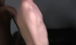 Gay Interracial Locate Engulfing ANd Handjob Porn 09