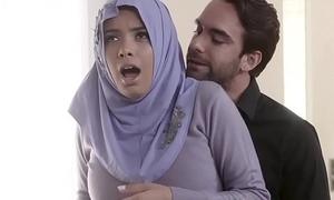 Dim Busty Arab Legal age teenager Aaliyah Hadid Ass-Fucked In Say no to Hijab