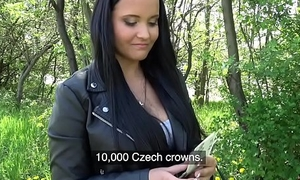 Institute Agent Sticky facial cumshot for busty hot Czech legal age teenager lower than beneath procession traverse