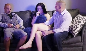 Teen Daughter Acquires Habitual By Dad and His Helpmate (Modern Taboo Family)